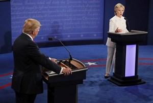 Cuộc tranh luận cuối cùng trước tổng tuyển cử giữa Donald Trump và Hillary Clinton