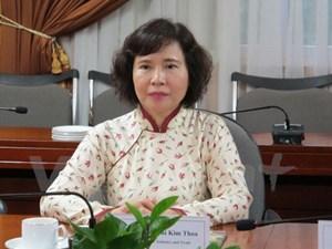 Thứ trưởng Hồ Thị Kim Thoa không được thôi việc
