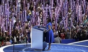 Bà Michelle Obama khuấy động đại hội đảng Dân chủ