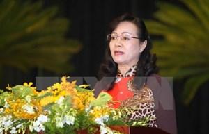 Bà Nguyễn Thị Quyết Tâm tái cử Chủ tịch HĐND Thành phố Hồ Chí Minh