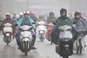 Bắc Bộ trở lạnh, có mưa nhiều nơi