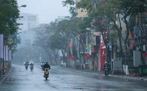 Bắc Bộ trời rét, có mưa phùn