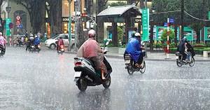 Bắc Bộ và Bắc Trung Bộ có mưa dông