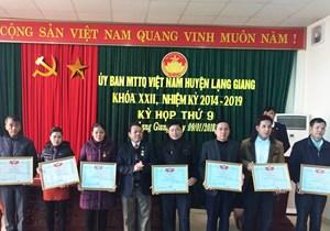 Bắc Giang: 100% Ban Thường trực Ủy ban MTTQ các huyện, xã có báo Đại Đoàn Kết
