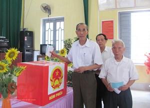 Bắc Giang: Bầu thêm 144 đại biểu HĐND cấp xã