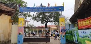 Bắc Giang: Điều tra vụ thầy giáo bị tố sàm sỡ hàng chục em học sinh tiểu học