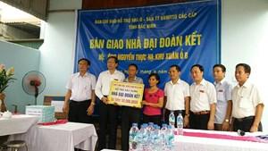 Bắc Ninh: Khởi công xây dựng 55 nhà Đại đoàn kết