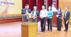 Bắc Ninh phát động ủng hộ Quỹ 'Vì người nghèo' năm 2018