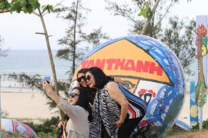 Làng chài Tam Thanh làm du lịch