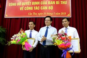 Thứ trưởng Bộ KH&ĐT làm Phó Bí thư Thành ủy Cần Thơ