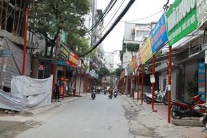 Băn khoăn tuyến phố kiểu mẫu