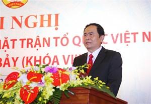 BẢN TIN MẶT TRẬN: Ông Trần Thanh Mẫn là Chủ tịch UBTƯ MTTQ Việt Nam khoá VIII