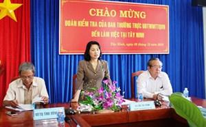 BẢN TIN MẶT TRẬN: Tây Ninh cần tăng cường nguồn lực nâng cao đời sống cho dân