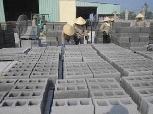 Báo cáo chính sách sản xuất gạch không nung