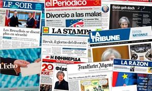 Báo chí phương Tây bối rối về khởi động Brexit