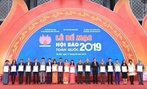 Báo Đại Đoàn Kết giành 2 giải A tại Hội Báo toàn quốc 2019