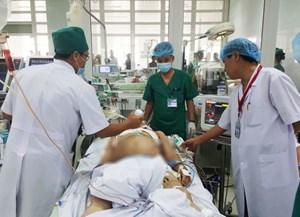 Bảo vệ Bệnh viện Sản nhi Nghệ An bị đâm đã tử vong