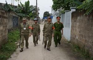 Bảo vệ dân phố góp phần giữ bình yên cho nhân dân