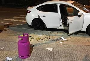 Bắt đối tượng đập phá hàng loạt ô tô rồi cướp xe máy của grabike