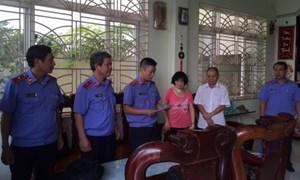 Bắt giam nguyên Chi cục trưởng THADS huyện Phong Điền