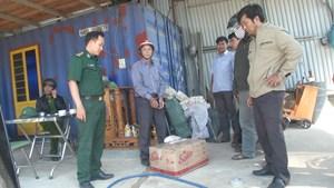 Bắt giữ đối tượng vận chuyển gần 600 kg vật liệu nổ trái phép
