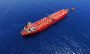 Bắt giữ tàu vận chuyển trái phép hơn 115.000 lít dầu trên biển