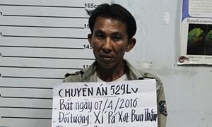 Bắt một người Lào vận chuyển 30.000 viên ma túy tổng hợp