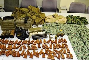 Bắt vụ vận chuyển vũ khí quân sự khi lên máy bay