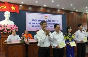 Bầu bổ sung 2 Phó Chủ tịch MTTQ tỉnh Sóc Trăng