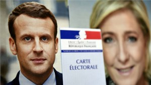 Bầu cử Pháp bước vào vòng đua 'song mã'