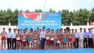 Bế mạc giải vô địch trẻ và thiếu niên vật dân tộc toàn quốc