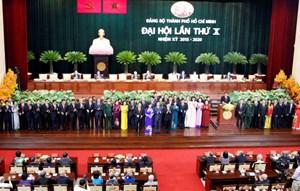 Bế mạc Hội nghị Thành ủy TP Hồ Chí Minh lần thứ 10 khóa X
