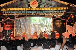 Bế mạc 'Những ngày văn hóa Nhật Bản tại Quảng Nam'