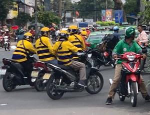 'be' tăng thu nhập và miễn phí đồng phục cho đối tác tài xế beBike