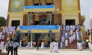 Long trọng tổ chức kỷ niệm 90 năm ngày khai đạo Cao Đài
