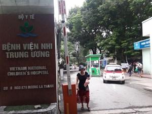 Bệnh viện Nhi trung ương 'ém' kết quả  lựa chọn nhà thầu thuốc