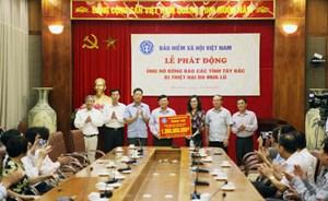 BHXH Việt Nam ủng hộ 1 tỷ đồng giúp đồng bào các tỉnh Tây Bắc