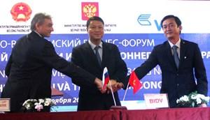 BIDV phối hợp tổ chức thành công Diễn đàn doanh nghiệp Việt Nam - Liên Bang Nga