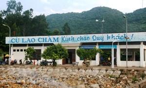 Biển động mạnh, hơn 1.100 du khách mắc kẹt ở đảo Cù Lao Chàm