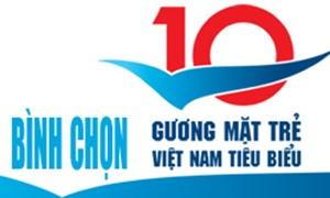 Bình chọn 10 Gương mặt trẻ Việt Nam tiêu biểu 2015