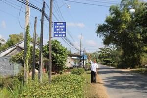 Bình Dương: Tuyến đường ánh sáng an ninh ở Vĩnh Hiệp