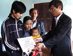 Bình Thuận: 24 tỉ đồng Quỹ Vì người nghèo