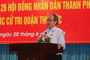 Bí thư Nguyễn Thiện Nhân: Ông Đoàn Ngọc Hải vẫn phải làm việc