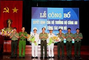 Bộ Công an bổ nhiệm, điều động 5 Phó Giám đốc tại Công an Hải Phòng và Hà Tĩnh