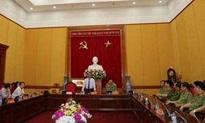 Bộ Công an gặp mặt Đại tướng Lê Hồng Anh