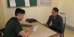 Bộ đội Biên phòng Lào Cai bắt đối tượng vận chuyển hai bánh heroin