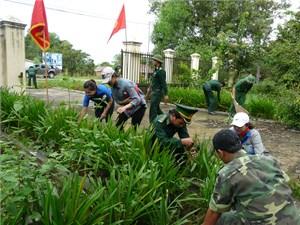 Bộ đội Biên phòng Đắk Lắk phát động phong trào bảo vệ môi trường năm 2016