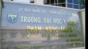 Bộ GD ĐT: ĐH Y khoa Phạm Ngọc Thạch đang làm thí sinh hoang mang!?