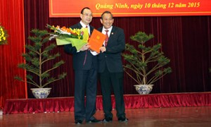 Bổ nhiệm Chánh án TAND tỉnh Quảng Ninh