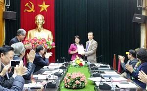 Bổ nhiệm Chánh Văn phòng và Trưởng Ban đối ngoại Trung ương Hội NTC